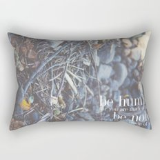 noble + humble. Rectangular Pillow