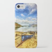 rowing iPhone & iPod Cases featuring Lets Sail Away by Ian Mitchell