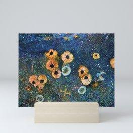 Abstract beautiful barnacles Mini Art Print
