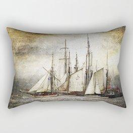 Sailing Ships Rectangular Pillow