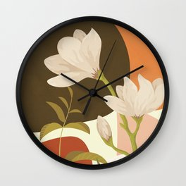 Elegant Shapes 14 Wall Clock