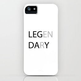 Another day at the GYM iPhone Case