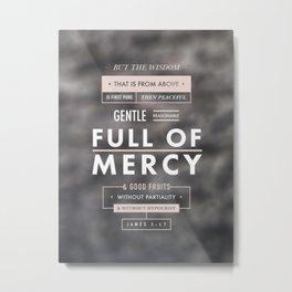James 3:17 Metal Print