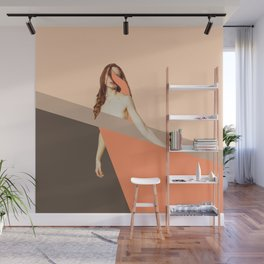 ABSTRACT ANATOMY - where are you hiding Wall Mural