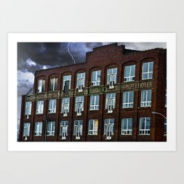 """The Sutherland Press Limited"" Art Print"