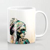 gypsy Mugs featuring Gypsy by Mo Baretta