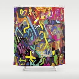 make it SIMPLE Shower Curtain