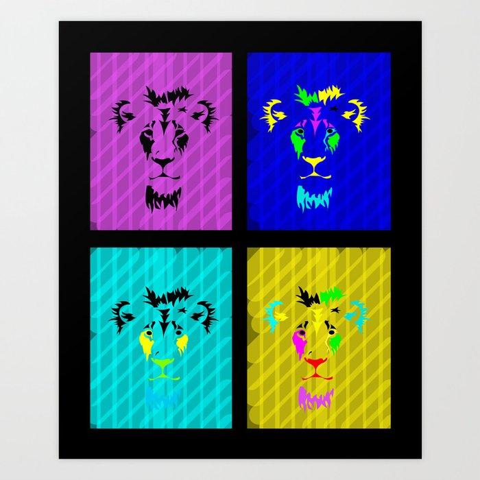 Jungle Kings Art Print