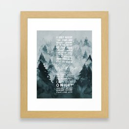 A Thrill of Hope Framed Art Print