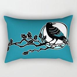 Crow and Oak Rectangular Pillow