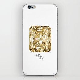 Topaz iPhone Skin