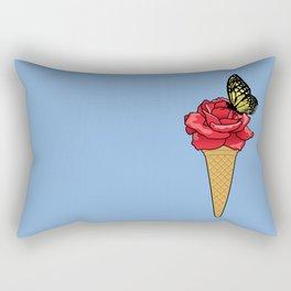 Butterfly Ice Cream Rectangular Pillow
