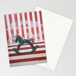 Rocking Horses series - Independence Stationery Cards