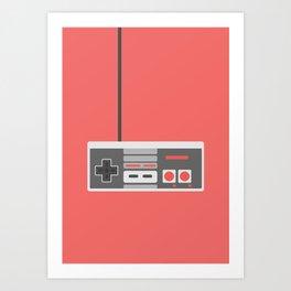 #48 NES Controller Art Print