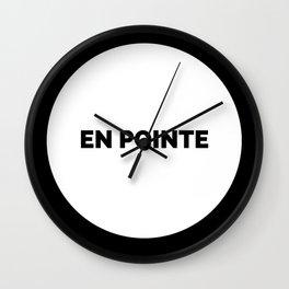 EN POINTE Wall Clock