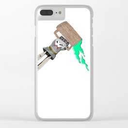 Bottoms Up Clear iPhone Case