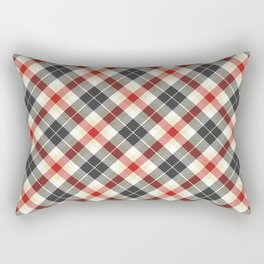 Holiday Plaid 9 Rectangular Pillow