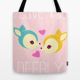 Deerly Tote Bag