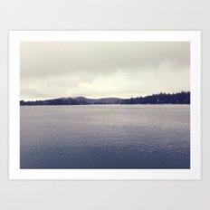 Lake Arrowhead Art Print