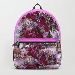The flowers from my garden Two Backpack