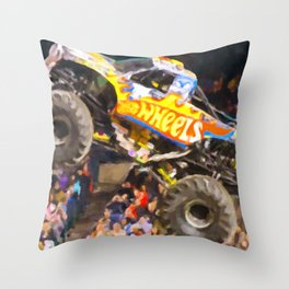 Team Hot Wheels Firestrom Throw Pillow