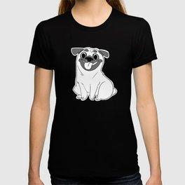 Pug Lineart T-shirt