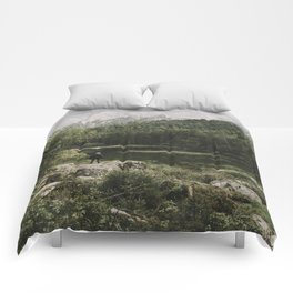 In silence - landscape photography Comforters