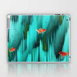 Golden Fishes Laptop & iPad Skin