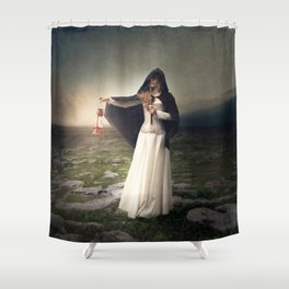 For those with eyes - Fine art magical portrait Shower Curtain