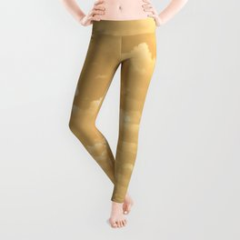 Clouds in a Golden Sky Leggings