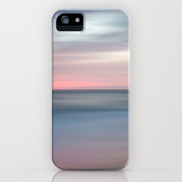 The Colors Of Evening On The Beach - Coastal Abstract Landscape Photograph iPhone Case