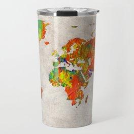 World Map 40 Travel Mug