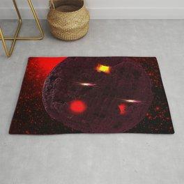 Large purple asteroid Rug