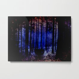 Guardian of the forest Metal Print