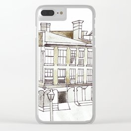 Old King Street Toronto Clear iPhone Case