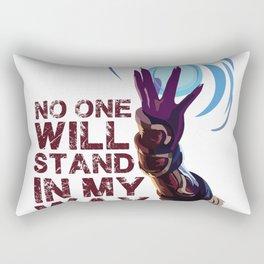 Ahri   dont stand in Rectangular Pillow