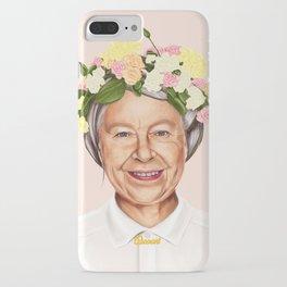 Hipstory - Queen Elizabeth iPhone Case