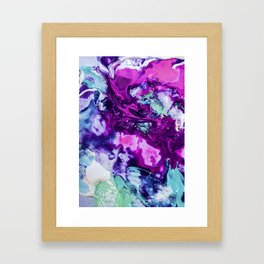 Liquid Abstract Framed Art Print