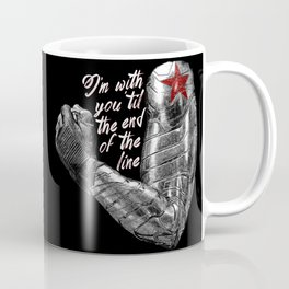 'Til the End of the Line Coffee Mug