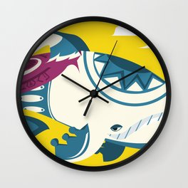 A Whale's Dream Wall Clock