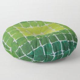 Quadratologo / Acrylic Painting Floor Pillow