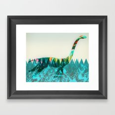 loch ness Framed Art Print