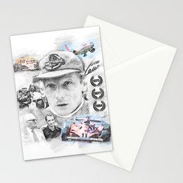 Niki Lauda, Portrait Stationery Cards