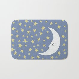 To the Mooon to the Starrs Bath Mat