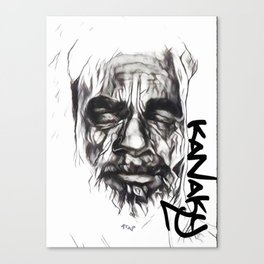 Chef Atai Kanaky Canvas Print