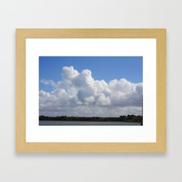 Just for the Clouds Framed Art Print