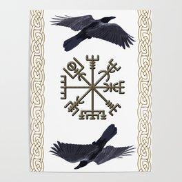 Viking - Huginn & Muninn Poster