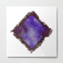 Ever in a Box - Purple Metal Print