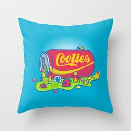 The World has Cooties Throw Pillow