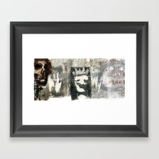 The Court Framed Art Print